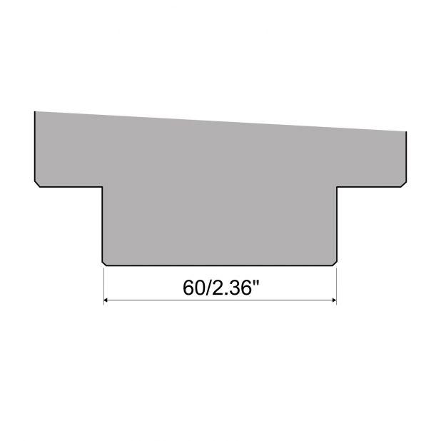 Manuelles Schnellspannsystem für Matrizen Typ R1, Länge 500mm