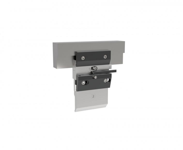 Manuelles Klemmsystem für Oberwerkzeuge mit frontaler Klemmung geeignet für Werkzeuge Typ R1, Länge 150mm,